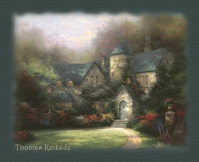 Artwork of Thomas Kinkade
